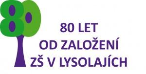 Logo 80. výročí